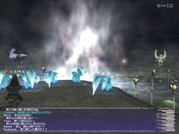 満月の泉BC突入時のイベント2