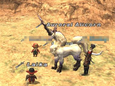 スカウトNPC「Auroral Alicorn」